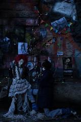 Neverwhere cosplay - Lady Door + Illiaster (Hijikata, owner: Gobloch) (tarengil) Tags: bjd abjd bjdphotography cosplay neverwhere neilgaiman londonbelow ladydoor long way down dark balljointeddoll dolls friends ball redhair resin