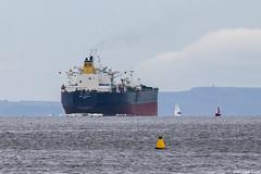 The Indian-registered crude oil tanker Jag Laxmi, IMO 9568196; Firth of Clyde, Scotland (Michael Leek Photography) Tags: ship tanker oilindustry oiltanker crudeoiltanker india clyde firthofclyde scotland westcoastofscotland westernscotland scottishcoastline scottishlandscapes scotlandslandscapes scottishshipping merchantship merchantvessel cowal cowalpeninsula finnart lochlong michaelleek michaelleekphotography