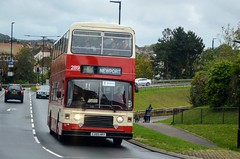 289 E289HRV (PD3.) Tags: isle wight iow hants hampshire england uk great britain newport godshill quay harbour bus buses museum preserved vintage running day rally autumn sunday 12 13 october 2019 southern vectis leyland olympian 289 e289hrv e289 hrv southampton