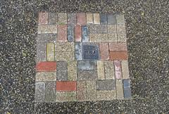 Water (Elisa1880) Tags: stenen tegels tiles colour kleuren patroon pattern stoep straat street wassenaar de horsten landgoed