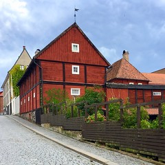 Karlshamn Cultural Quarter II (hansn (5+ Million Views)) Tags: karlshamn cultural quarter kulturkvarter blekinge sweden sverige faluröd red röd