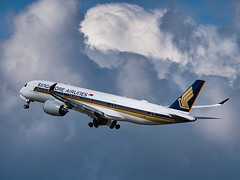 9V-SMR Singapore Airlines Airbus A350-900 (alex kerr photography) Tags: