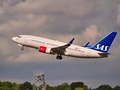 SE-RJS SAS Scandinavian Airlines Boeing 737-700(WL) (alex kerr photography) Tags: