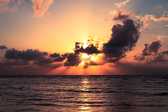 Nascer do sol! (julianoclark) Tags: sunset nature natureza nascerdosol sun oceane oceano mar orangesky sky