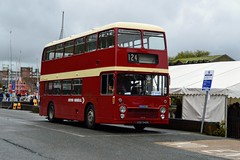 545 VOD545K (PD3.) Tags: isle wight iow hants hampshire england uk great britain newport godshill quay harbour bus buses museum preserved vintage running day rally autumn sunday 12 13 october 2019 southern vectis bristol vrt vr ecw 545 vod545k vod 545k devon general