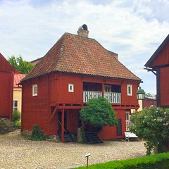 Karlshamn Cultural Quarter I (hansn (5+ Million Views)) Tags: karlshamn cultural quarter kulturkvarter blekinge sweden sverige faluröd red röd