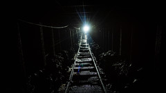 Light at the end of the tunnel (_D4RK_) Tags: coal colliery mining pit pits welsh welshcoal coalhouse house brithdir