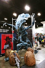 Alien Queen at LA ComicCon 2019 (ok2la) Tags: alien queen la comiccon 2019 comic convention sci fi movie aliens figure scifi