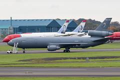 83-0076 KC-10A USAF Prestwick 13.10.19 (Robert Banks 1) Tags: 830076 mcdonnell douglas dc10 kc10a usaf united states air force prestwick egpk pik travis 60 349 amc amw