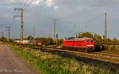 232 571 mit 52192 LHG - UE G in Großkorbetha (Emotion-Train) Tags: letztes licht büchsenlicht sunset ludmilla 232 571 alte lüfter halle erfurt mischer groskorbetha herbst spot 52192