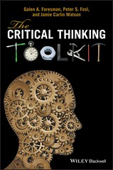 The Critical Thinking Toolkit 1st Edition (smallpocketlibrary) Tags: free book bookspdf pdf medicine psychology ebook booksmedicine nutrition cosmos universe science physics technology astronomy neurology surgery anatomy biology chemistry mathematics university infographic picture photography animal wildlife fitness insects amazing wonderful incredibility beauty awesome nature smallpocketlibrary