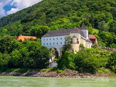 Schönbühel Monastery (t.beckey) Tags: schönbühel monastery melk austria danube river danuberivercruise water history building architecture trees cruise