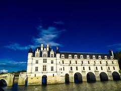 Chenonceau (gabriel.gallozzi) Tags: chenonceau france visite tourisme tourism visit visiting château cher fleuve lights clouds bridge