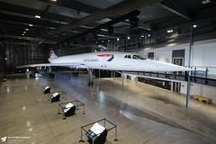 BAC Concorde (Matt Sudol) Tags: aerospace bristol filton aerodrome airport airfield museum bac concorde british airways gboaf