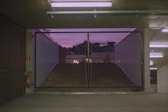Parking gate (Germán Talavera) Tags: nikonfm2 luxembourg moody 35mm film analogue kodak gold