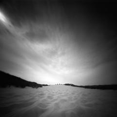 The dune (Rosenthal Photography) Tags: dänemark ff120 20190802 epsonv800 pinhole mittelformat lochkamera 6x6 realitysosubtle6x6 ilfordlc2912922°c55min ilfordrapidfixer urlaub ilfordpanfplus analog asa50 dune landscape sand beach coast sea northsea mood denmark houvig summer august sun sunshine realitysosubtle rss 205mm f137 ilford pan panf panfplus lc29 129 14 rapid fixer epson v800