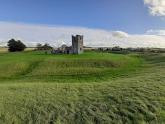 Knowlton Church and Earthworks (apagemitchell) Tags: earthworks ruinedchurch ancient neolithic banks ditches englishheritage dorset ruin dorsetruin