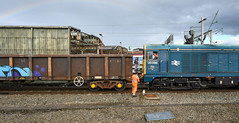 20096 backing up at Crewe (robmcrorie) Tags: 20096 crewe station 6z36 spoil ballast longport esso sidings nikon d850