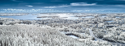 Kuopio from Above