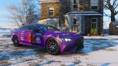 image1-2 (ForzaDesignsPolizeiYT) Tags: forzadesignsbypolizeiyt forza horizon horizon4 fh4 polizeiyt gumball 3000 rally 2019 purple purplization mercedes amg gt4