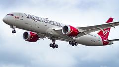 Boeing 787-9 Dreamliner G-VYUM Virgin Atlantic Airways (William Musculus) Tags: london heathrow airport lhr egll spotting aviation plane airplane william musculus gvyum virgin atlantic airways boeing 7879 dreamliner vs vir