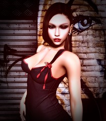 The Devil Within... (Brooke Adzior) Tags: candydoll catwa maitreya doux