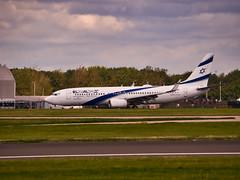 4X-EKL El Al Israel Airlines Boeing 737-800(WL) (alex kerr photography) Tags: