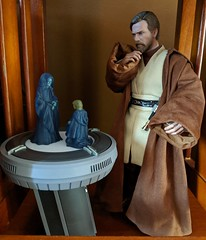 Why that little Sith! (Pablo Pacheco 85) Tags: starwars anakinskywalker obiwankenobi holograms hottoys sith sheevpalpatine emperorpalpatine emperor