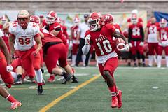 _B1A1419.CR2 (jfpimentel) Tags: 2019 amateur football game laval mcgill montreal quebec redmen rougeetor sports teams university