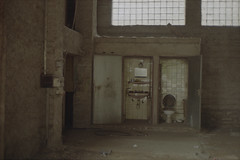 Toilet (Germán Talavera) Tags: nikonfm2 luxembourg moody 35mm film analogue kodak gold ruins