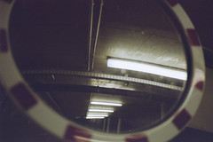 Mirror (Germán Talavera) Tags: nikonfm2 luxembourg moody 35mm film analogue kodak gold
