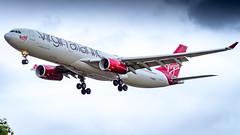 Airbus A330-343 G-VNYC Virgin Atlantic Airways (William Musculus) Tags: london heathrow airport lhr egll spotting aviation plane airplane william musculus gvnyc virgin atlantic airways airbus a330343 vs vir a330300
