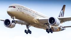 Boeing 787-9 Dreamliner A6-BLZ Etihad Airways (William Musculus) Tags: london heathrow airport lhr egll spotting aviation plane airplane william musculus a6blz etihad airways boeing 7879 dreamliner ey etd