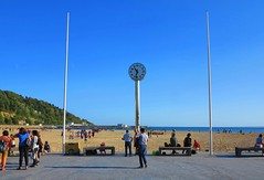 Cielo azul (eitb.eus) Tags: eitbcom 16599 g1 tiemponaturaleza tiempon2019 playa gipuzkoa hondarribia josemariavega