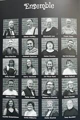 Programme - cast (Glyn Marston) Tags: walsalls running ambassador sweet charity