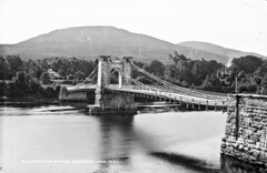 Kenmare Suspension bridge (National Library of Ireland on The Commons) Tags: robertfrench williamlawrence lawrencecollection lawrencephotographicstudio thelawrencephotographcollection glassnegative nationallibraryofireland suspensionbridge kenmare cokerry