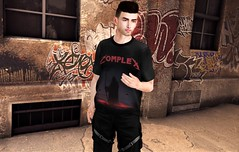 The Reaper (EnviouSLAY) Tags: newreleases new releases scrapes cuts appliers duckie urban black baggy complex tee pants stealthic tmd themensdepartment the mens department belleza bento lelutka mensmonthly mensfair mensfashion mensevent event fair fashion monthlymen monthlyfashion monthlyfair monthly men pale male gay lgbt blogger secondlife second life photography