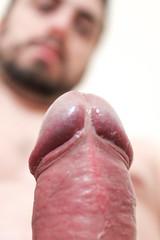 IMG_2226 (kinkhumiliation) Tags: erection cock penis stiff dickhead smell cheese precum male solo cockhead juice uncut