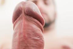 IMG_2167 (kinkhumiliation) Tags: erection cock penis stiff dickhead smell cheese precum cockhead juice erect