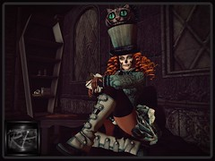 is it hello kitty (RedPoison003) Tags: hello kitty scary dark abandoned maitreya go arcade gacha red redpoison003 mad alice glam afaire halloween