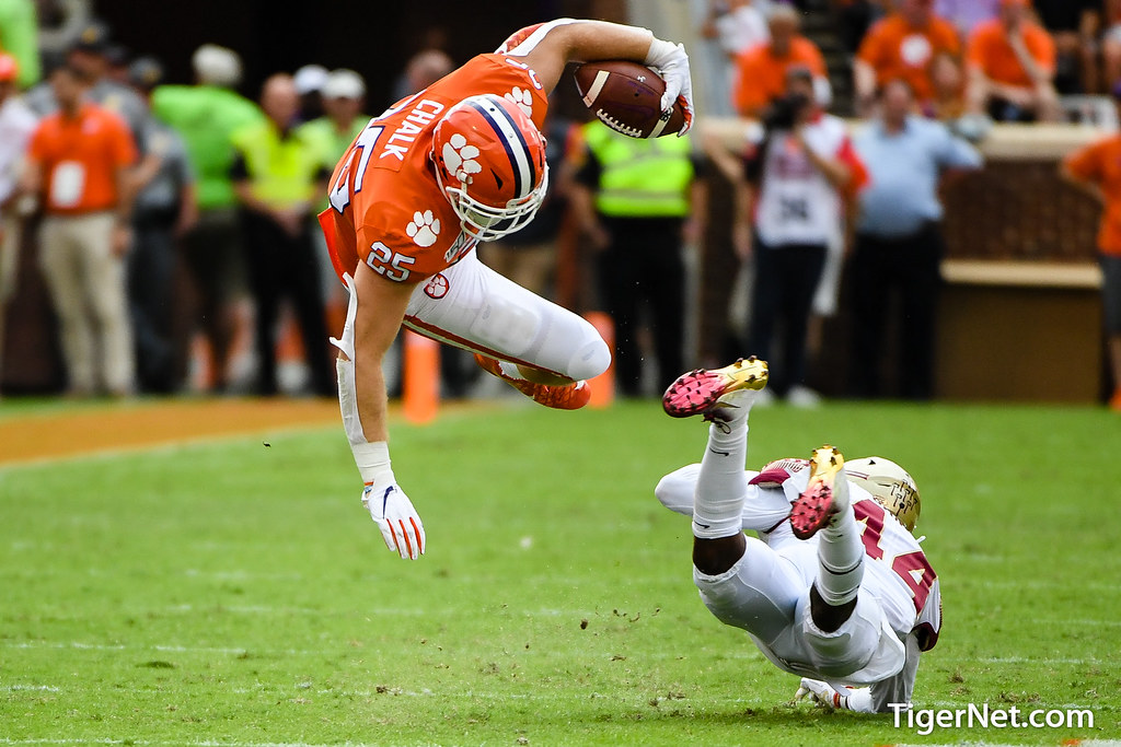 Clemson Photos: J C  Chalk, 2019, Football, Florida  State