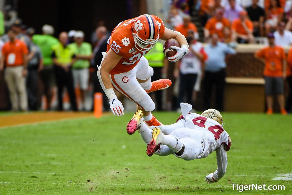 Clemson Photos: J C  Chalk, 2019, Football, Florida  State