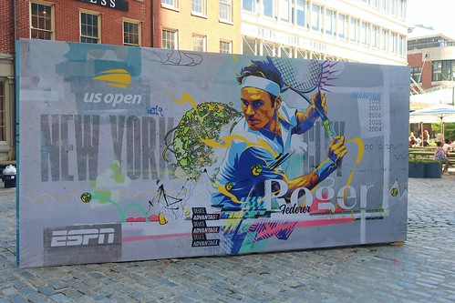 NYC - South Street Seaport - 2019 US Open