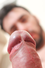 IMG_2250 (kinkhumiliation) Tags: erection cock penis stiff dickhead smell cheese precum male solo cokchead smegma