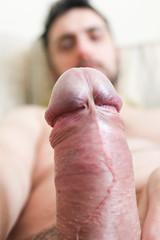 IMG_1908 (kinkhumiliation) Tags: erection cock penis stiff dickhead smell cheese precum male solo cockhead uncut dick