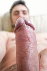 IMG_1907 (kinkhumiliation) Tags: erection cock penis stiff dickhead smell cheese precum male solo cockhead uncut