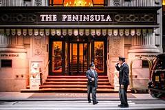 The Peninsula (Nun Nicer Artist) Tags: hotel people manhattan 35mm 35mmstreetphotography streetphotography street nyc newyork travel lodging citylife architecture doorman