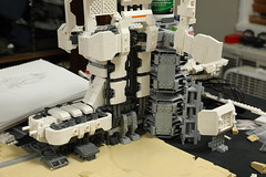 Microspace Arcology WIP (Blake Foster) Tags: lego afol moc space microspace microscale arcology