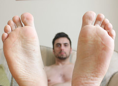 23 (kinkhumiliation) Tags: barefeet soles toes malefeet nude naked cheesy feet male smell solo