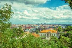 Historic centre of Prague (Theirion) Tags: česko praha hdr czechrepublic czechia českárepublika prague aurorahdr sony a6300 blue red green sky river city trees landscape clouds cityscape old historiccentre